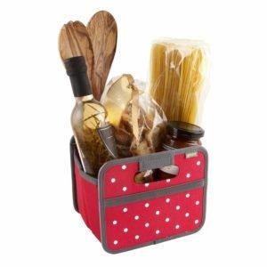 kitchen storage with minis