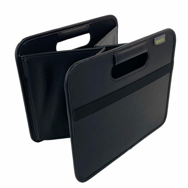 A100818 2 Foldable Box Medium PU Lava Black