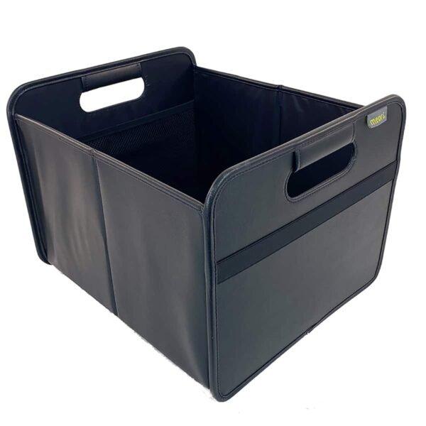 A100818 3 Foldable Box Medium PU Lava Black