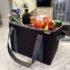 A100830 2 Grocery Basket Lava Black LST