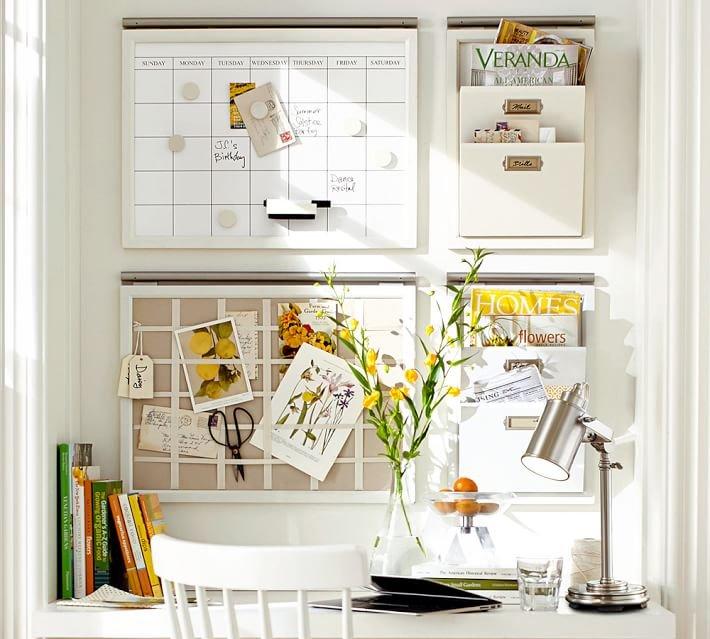 Inspiration office cork planning boards