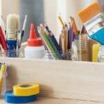 Creative ways to organize your art studio and craft room.