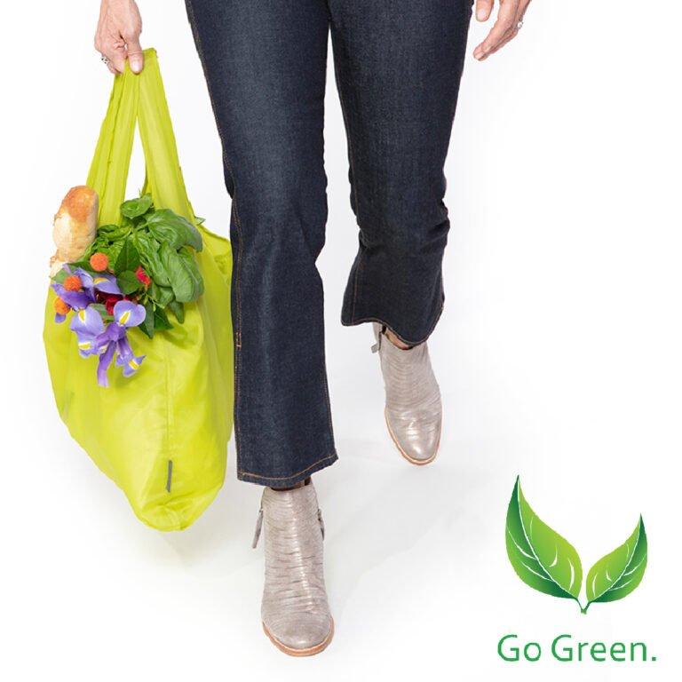 Pocket Shopper pop up Nedra Go Green