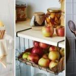 Small Kitchen Storage Ideas – Kitchen Organization Tips