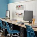 Homeschool Workstation Storage Ideas and Organization Tips